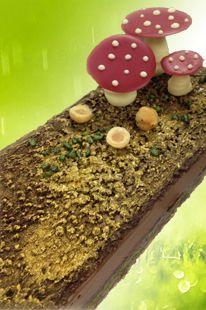 Kirsten tibballs 'eve' cake: Crispy base, pistachio dacquoise, raspberry jam, chocolate cremeux & A CHOCOLATE GARDEN.