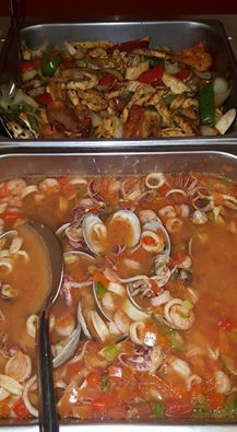 'Some items on buffet today' Mexican Dishes, Cravings, Buffet, Beef, Chicken, Food, Meat, Mexican Side Dishes, Essen