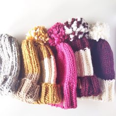 Chunky slouchy knit hats are returning soon to Provision! www.ProvisionShop.etsy.com