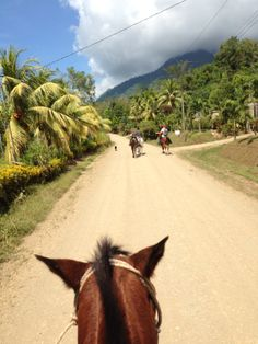 Costa Rica, Ojochal, Osa. Horseback riding. Beautiful tour on horses to waterfall and farms. Read more on our blog at http://www.livingthedreamincostarica.com and follow us on Facebook at www.facebook.com/LivingInCostaRica