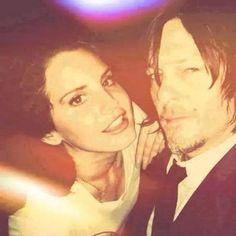 Lana del Rey and Norman Reedus. Like can it just happen? even if it only lasts for a secong...can they just...HAPPEN!