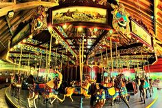 Port Dalhousie (by Brock Hunter) is a community in St Catherines, Ontario, Canada Voyage Montreal, Lakeside Park, Niagara Region, St Catharines, Painted Pony, Canada, Merry Go Round, Carousel Horses, Fantasy