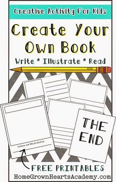 Creative writing books for kids