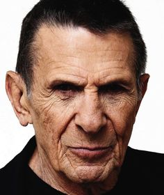 Adam. Adam is Orlando's buddy along the trip to the Arden forest. Adam is an old man. Leonard Nimoy is Adam because he is who popped into my head whenever I thought of Adam. He is a simple old man and so he is wearing a simple black shirt.
