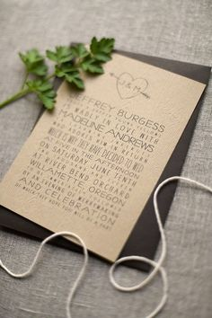 Save the date for your wedding - Leslie Passerino