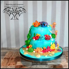 stunningandgorgeous.nl Finding Dory cake for my own daughter and son. We  baby Dory