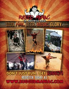 Rugged Maniac. Doing this March 9th!