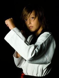 students in youth martial arts at Yin's Tae Kwon Do Academy