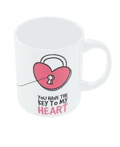Buy Mugs Key to my Heart Valentine's Day Coffee Mug |PosterGuy