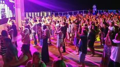 Dancing at Spice H2O- Norwegian Breakaway  #CruiseShip #Norwegian #NCL #Breakaway #Cruise #TravelIdeas #TravelInspiration #Cruising #Vacation #Travel  #CruiseHappy
