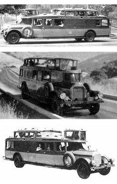 Just a car guy : The 1930 NiteCoach Greyhound bus built by Pickwick, big? Oh yeah. But special? Yes! It has Woodlite headlights!