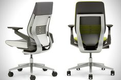 Top Rated Ergonomic Office Chair - Home Furniture Design Cool Office Desk, Best Office Chair, Home Office Setup, Home Office Chairs, Office Ideas, Upholstered Swivel Chairs, Outdoor Dining Chair Cushions, Chair Photography, Comfortable Office Chair