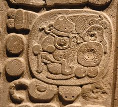 Earliest script of Mexico: the Maya Glyphs...this is a written language