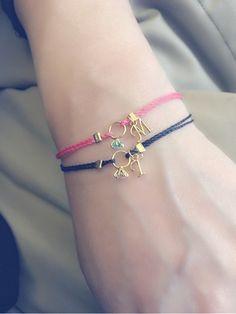 My Wire Jewelry, Jewelry Art, Beaded Jewelry, Jewelery, Jewelry Design, Kids Bracelets, Cord Bracelets, Handmade Bracelets, Diy Bracelet