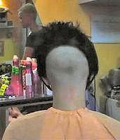 Daringly high shaved nape Shaved Bob, Shaved Nape, Short Bob Haircuts, Bob Hairstyles, Inverted Bob, Bad Hair, Pixie Cut, Bob Cut, Shaving