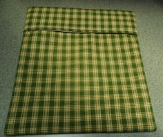 Microwave Baked Potato BagOlive Green Homespun by SusiesUniqueChic, $6.00