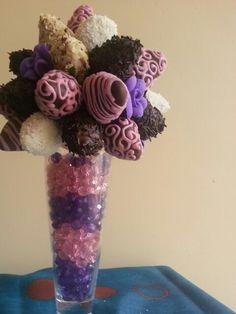 Bouquet fresad con Chocolate