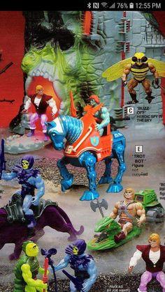 He Man Figures, 1980 Cartoons, Weird Toys, Cartoon Toys, She Ra Princess Of Power, Toy 2, Sword And Sorcery, Thundercats, Childhood Toys