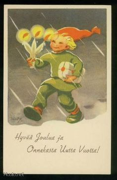 MARTTA WENDELIN Nordic Christmas, Christmas Past, Christmas Cards, Baumgarten, Winter Solstice, Old Ones, Beautiful Christmas, Yule, Gnomes