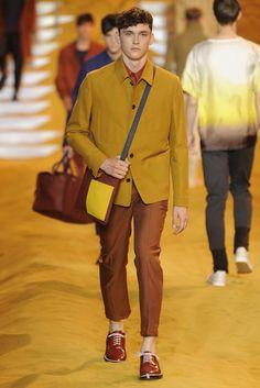 Fendi Men's RTW Spring 2014 - Slideshow - Runway, Fashion Week, Reviews and Slideshows - WWD.com