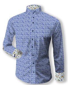 Bivolino ELNEO shirt designed ny Sam Vanderlock Custom Shirts, Shirt  Designs, Flower Power, c25a2c4661