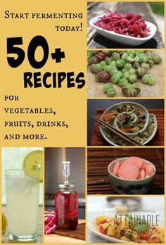 Learn to Ferment Vegetables: 50  Recipes to Get You Started