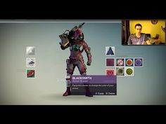 #Bungie's #Destiny #Armor #Shader List & Full Previews In Game
