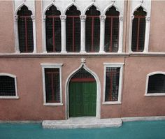 miniature Venetian front door