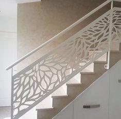garde corps, balustrades, rambardes, escalier, motif, panneau décoratif, racken