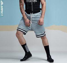 Men's Mesh Harem Shorts