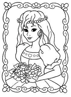 Print Princess Coloring Page coloring page & book. Your own Princess Coloring Page printable coloring page. With over 4000 coloring pages including Princess Coloring Page .