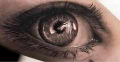 An amazing detailed & realistic eye tattoo by… coolTop Tattoo Trends – Holy shit! Wörter Tattoos, Tattoo Henna, Great Tattoos, Beautiful Tattoos, Body Art Tattoos, Sleeve Tattoos, Tattoo Ink, Wicked Tattoos, Sick Tattoo