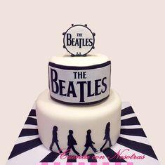 Torta Los Beatles Beatles Cake Musician Cake Torta Musica Cuenta con Nosotras