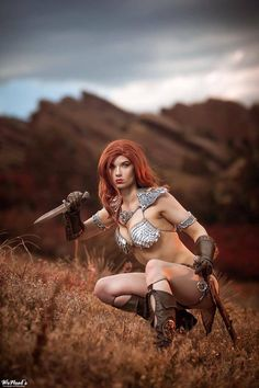 This Red Sonja Cosplay Is Glorious