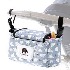 Baby Organiser Mummy Bag Storage Buggy Stroller Pushchair Cup Bottle Holder E3