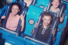 Ricky & Zai on a roller coaster...their faces doe. #ZaiLetsPlay #Biggs87x #YouTubers #Roller_Coaster