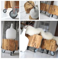 Creative Tree Trunk Solutions for Warm and Modern Look for Your Home Wood Furniture, Furniture Design, Cottage Interiors, Diy Interior, Home And Deco, Home And Living, Interior Inspiration, Home Accessories, Sweet Home