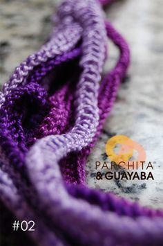 Elije el color que más te gusta y lo hacemos para ti. / Choose the color that you prefer and we will make it for you. #parchitaguayaba #crochet #ganchillo #hechoamano #homemade #Madrid #Caracas #Miami #colores