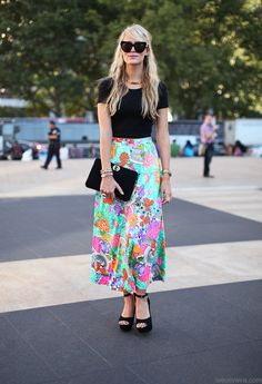 Maxi Skirts in the summer