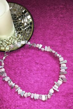 Hey, I found this really awesome Etsy listing at https://www.etsy.com/listing/182337685/kunzite-grey-agate-necklace