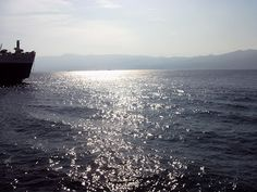 the sea between Calabria and Sicily