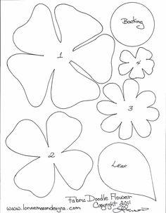 Бесплатные шаблоны для печати бумаги цветок   бумага ножницы и швейная декоративной кромки, если требуемый рисунок карандашом ...