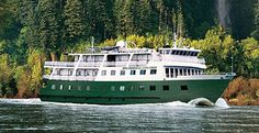Wilderness Explorer accommodates 74 guest with itineraries to Alaska . Best fit for active & adventure travelers