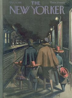 The New Yorker - Saturday, October 13, 1951 - Issue # 1391 - Vol. 27 - N° 35 - Cover by : Arthur Getz