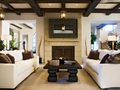 Transitional | Living Rooms | Montreux Custom Homes : Designers' Portfolio : HGTV - Home & Garden Television#/id-10806#/id-10785