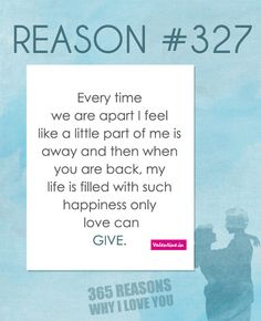 365 Reasons Why I Love You Quotes : ... love you i love you so reasons i love you my love i love you quotes