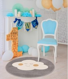 #homedecor #inspiration #interiordesign #decoration #bedroomdecor Bedroom Decor, Kids Rugs, Clouds, Interior Design, Abstract, Grey, Modern, Inspiration, Home Decor