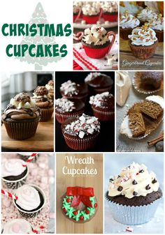 Christmas Cupcakes For Holiday Parties