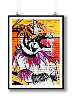 Plakat / Poster – Grafitti Lisboa 8 #poster, #Grafitti, #art