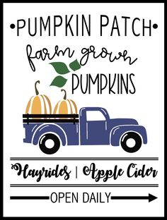 pumpkin patch sign printable, need some without hayrides. Need to serve apple cider. Print your pumpkin patch free printable sign. The perfect pumpkin patch sign to add to your farmehouse decor the fall seaon. Free Pumpkin Patch, Best Pumpkin Patches, Pumpkin Patch Birthday, Pumpkin Patch Party, Pumpkin Painting Party, Fall Decor Signs, Fall Signs, Pumpkin Farm, Happy Fall Y'all